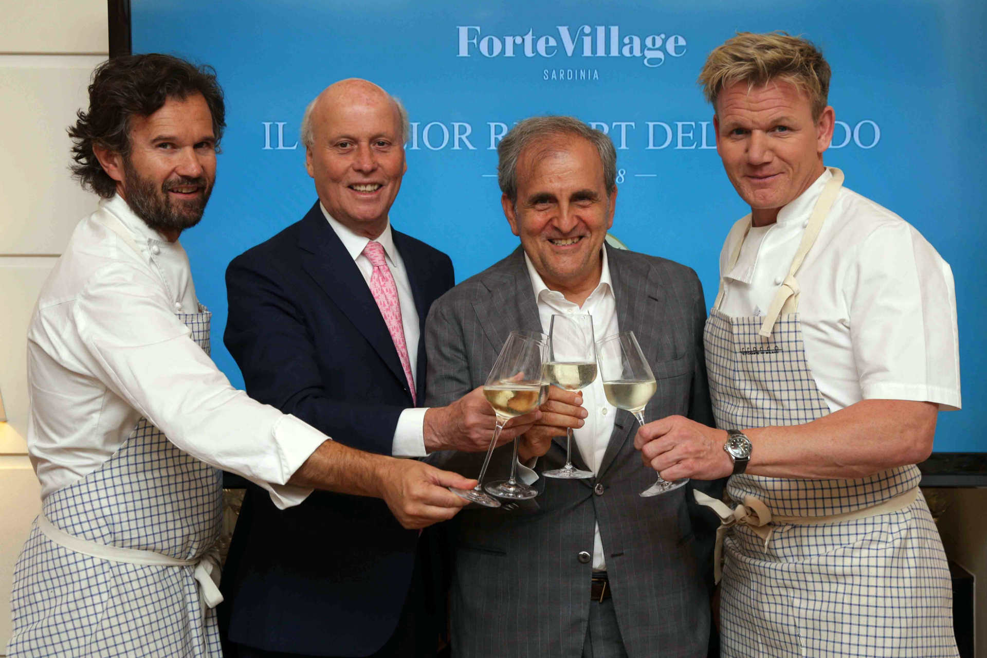 CENA CRACCO – GORDON RAMSEY PER IL FORTE VILLAGE